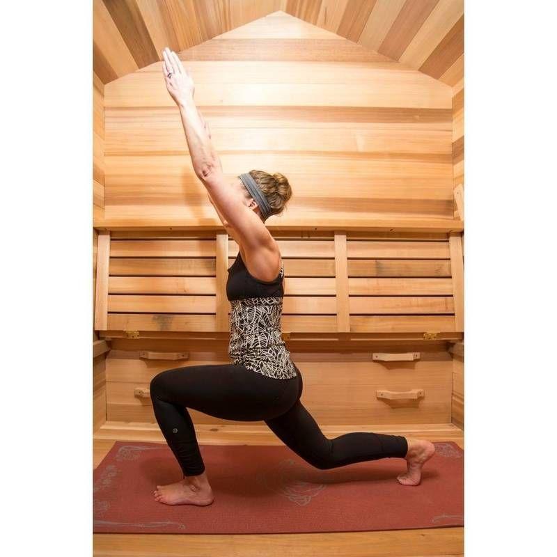 Hot yoga training sauna in 2020 hot yoga yoga training