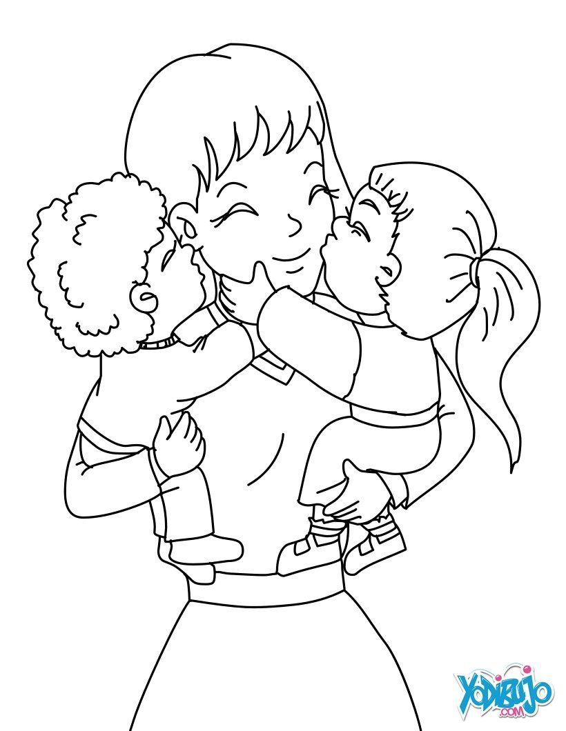Grandmother Coloring Pages Reading And Learning Drawing For