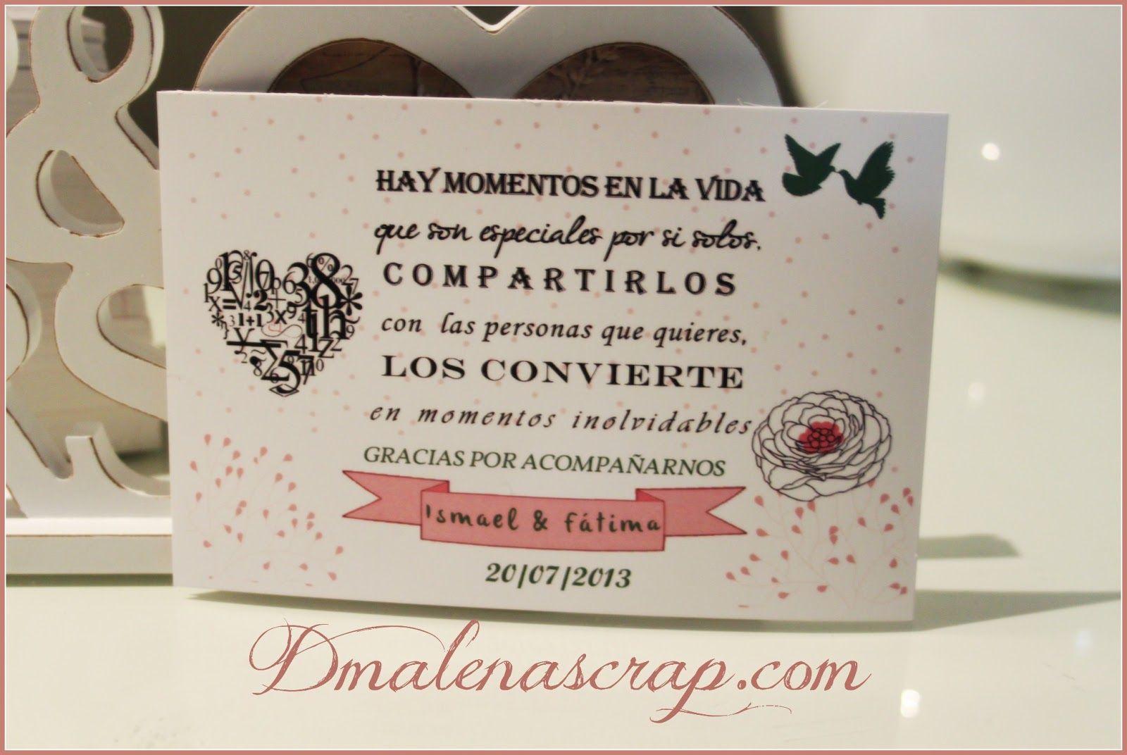 dmalena+tarjetas+de+agradecimiento.jpg 1,600×1,072 pixeles   Agradecimiento  boda, Carta de agradecimiento, Palabras de agradecimiento