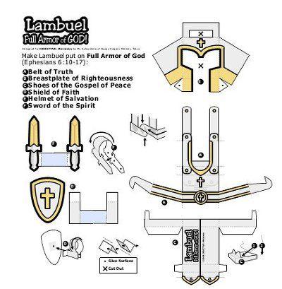 Bible shield of faith craft 믿음의 방패 만들기 DLTK\\\'s Bible Crafts ...