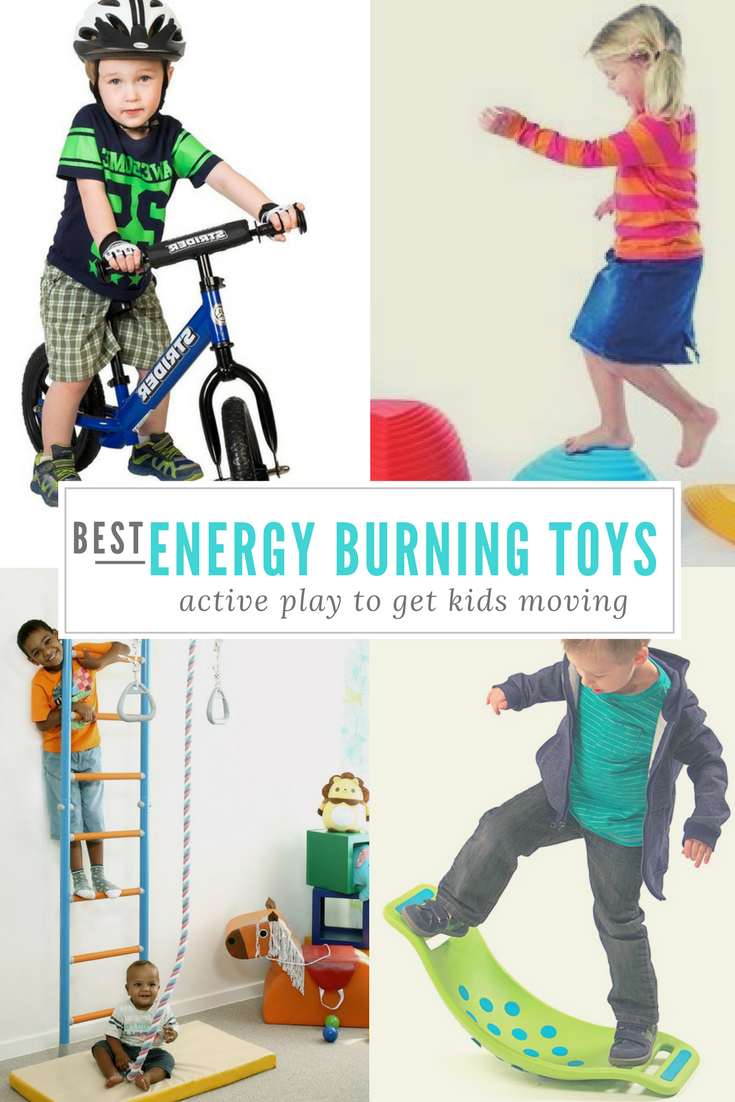 Best Indoor Energy Burning Toys For Active Kids Physical
