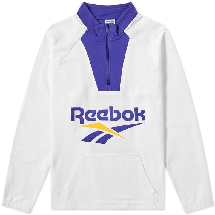 diseño hábil proveedor oficial disfrute del envío de cortesía Reebok Vector 1/4 Zip Sweat   Reebok, Printed shirts, Mens fashion ...