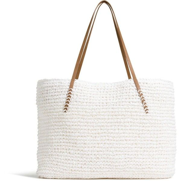 390a785c92da Summer Straw Tote - View All Accessories - Women - Factory Outlet ...