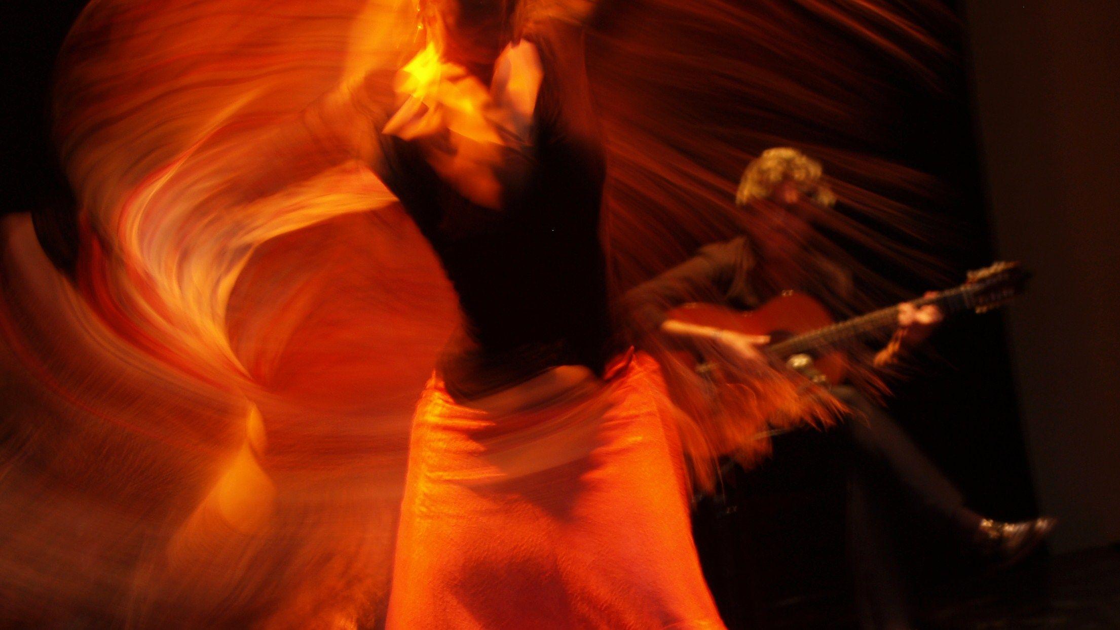 Flamenco Dancer and Guitarist Flamenco dancers, Flamenco