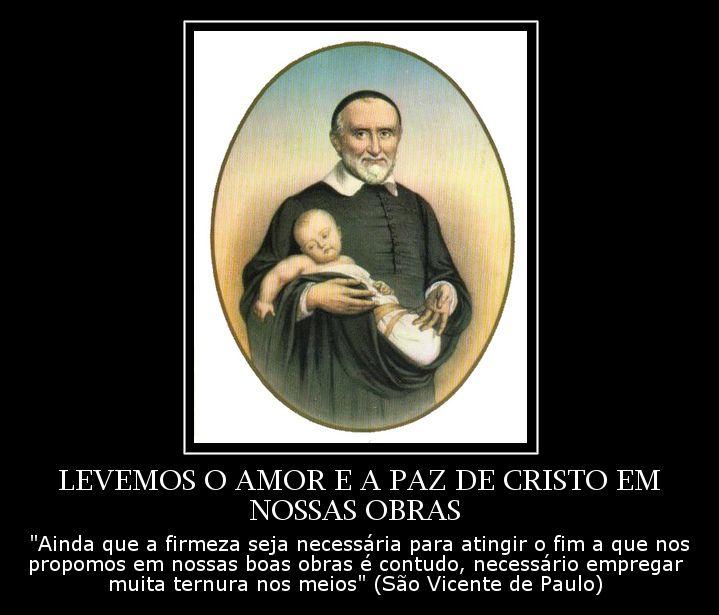 São Vicente De Paulo Nossos Santo De Cada Dia Pinterest Oração