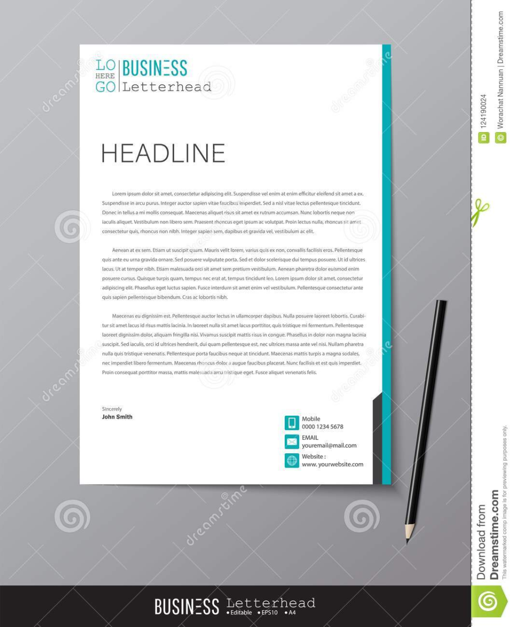 letterhead design template and mockup minimalist style best objective for resume civil engineer cv filetype docx career in simple words