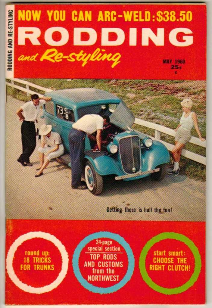 Rodding and Re-Styling May 1960 Old Vintage Car Magazine Custom ...