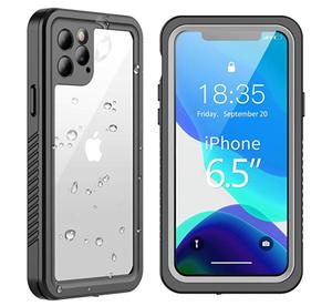 Waterproof Bumper Clear Designer iPhone Case For iPhone 11