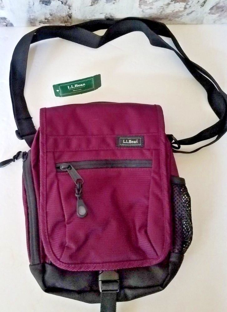 0bf9cea4018 L.L. Bean Carryall Guide Shoulder Bag Small Crossbody purple NWT  LLBean   MessengerShoulderBag   ACCESORIES   Pinterest   Outdoor travel, Shoulder  bags and ...