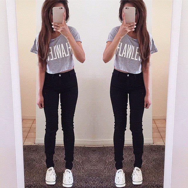 Stylizacja Do Szkoly Stylowkidlanastolatek Pl Plus Clothing Clothes Casual Outfits