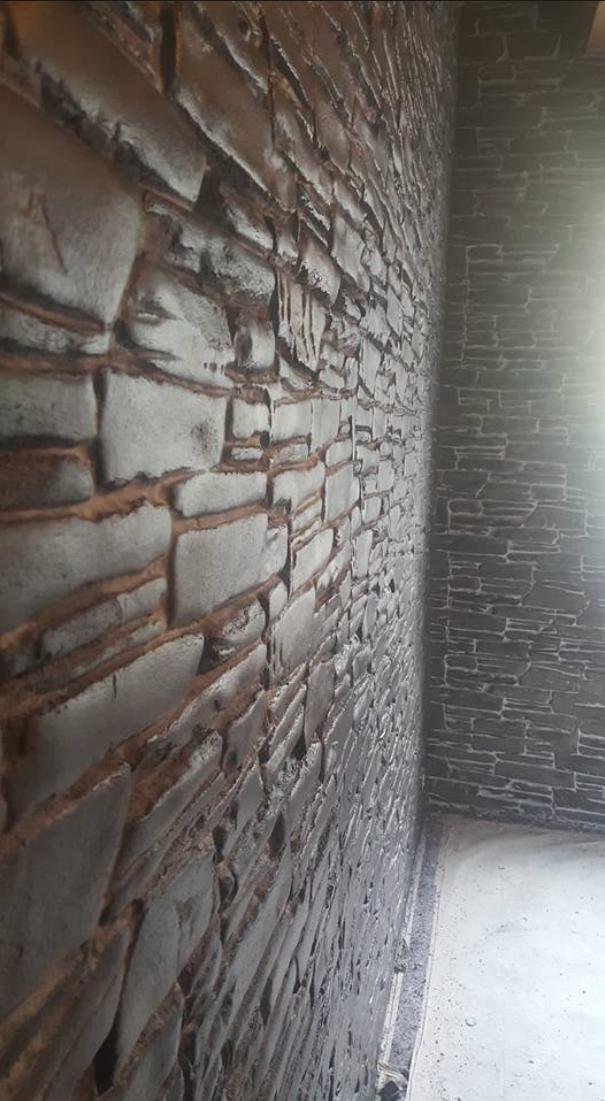 Wir Machen Die Asthetischsten Wande Und Boden Aus Beton Natursteinwand Natursteine Bruchstein