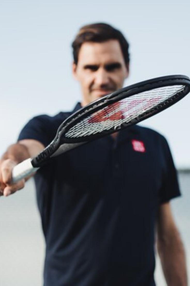 Roger Federer Pro Staff Rf97 Autograph Tennis Racquet 2020 In 2020 Tennis Roger Federer Tennis Photos