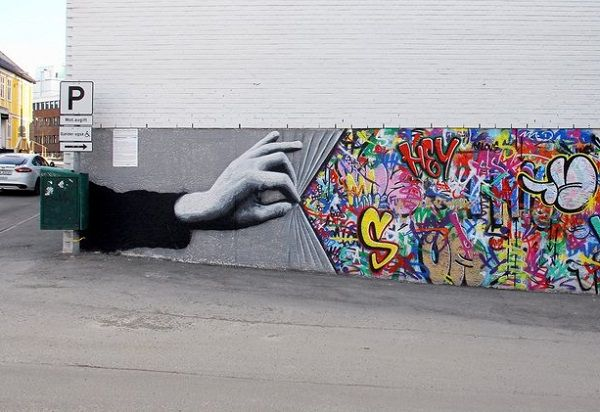 Street art by Martin Whatson | Art and Design