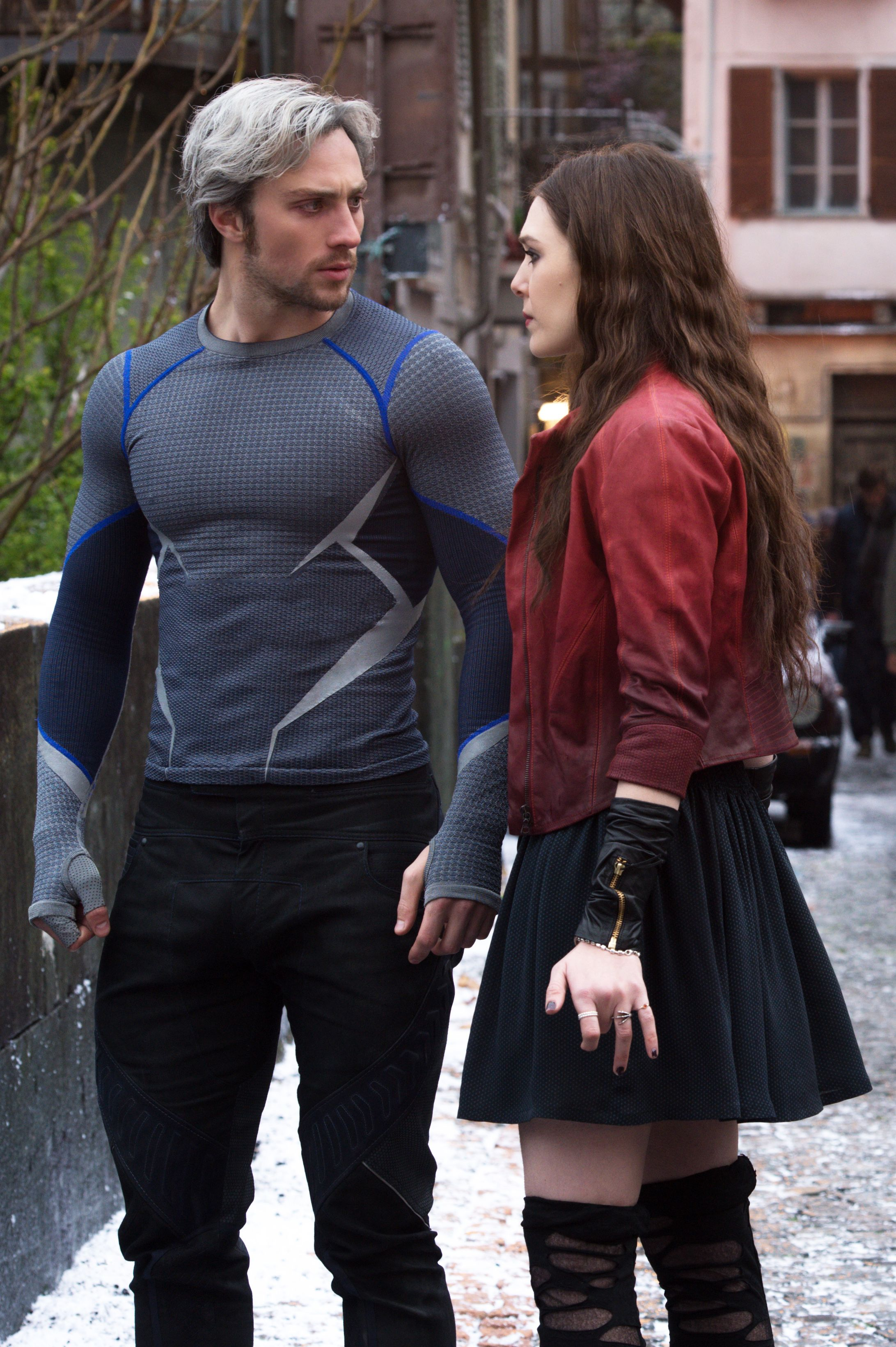 Avengers Age Of Ultron The Maximoff Twins Pietro And Wanda