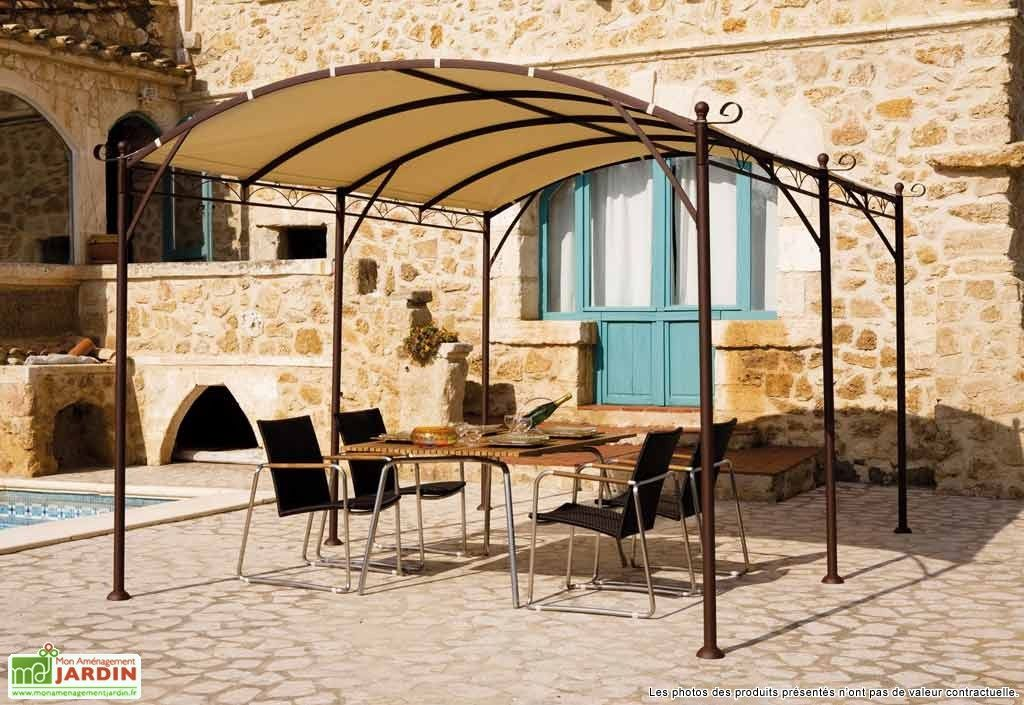 tonnelle fer forge illusion 4x3 m hardware special balcony pergola gazebo outdoor