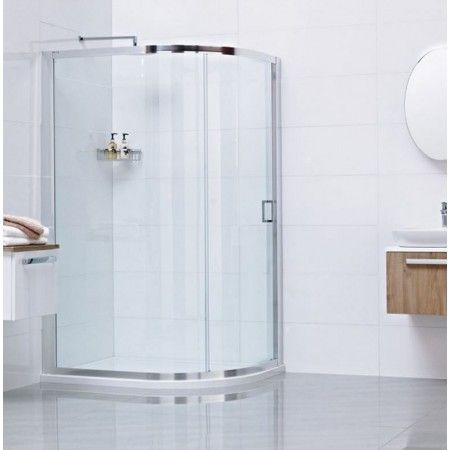Roman Lumin8 One Door 800 X 1000 Offset Quadrant Shower Enclosure Quadrant Shower Enclosures Quadrant Shower Bathroom Shower Enclosures