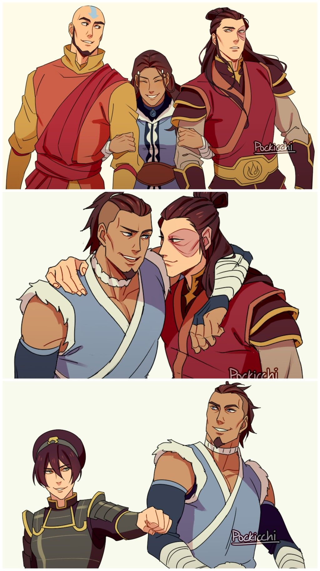 Team Avatar With Images Avatar Airbender Avatar The Last