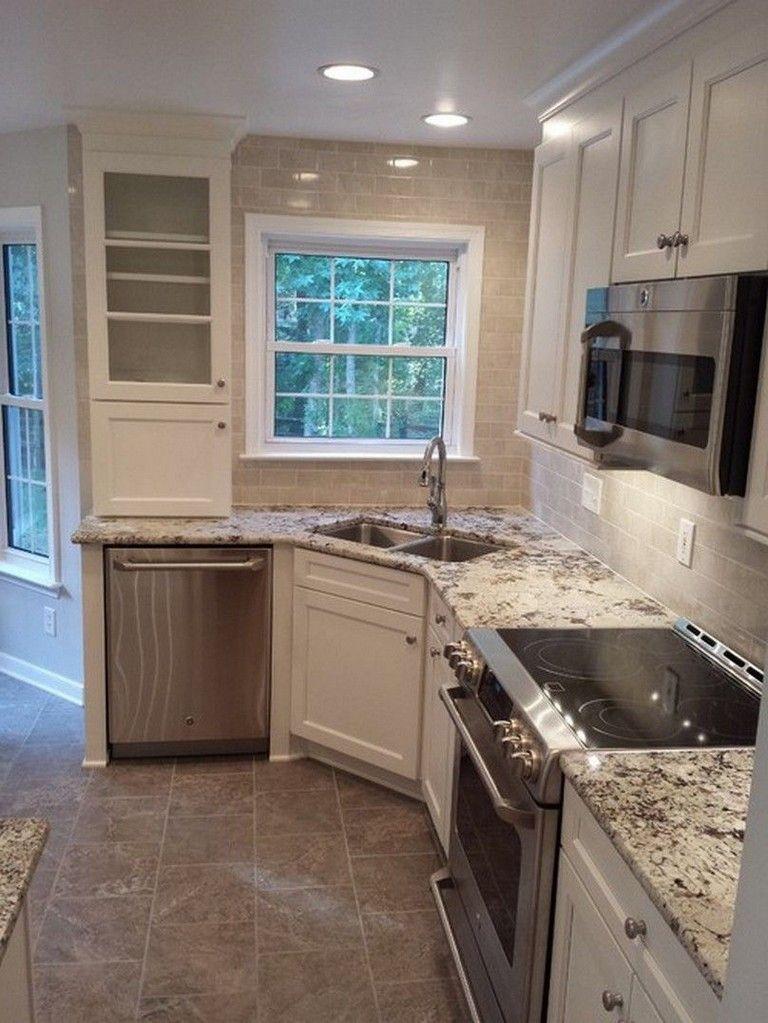 33 Admirable Practical Kitchen Ideas You Will Definitely Like Kitchen Sink Decor Kitchen Design Small Kitchen Remodel Small
