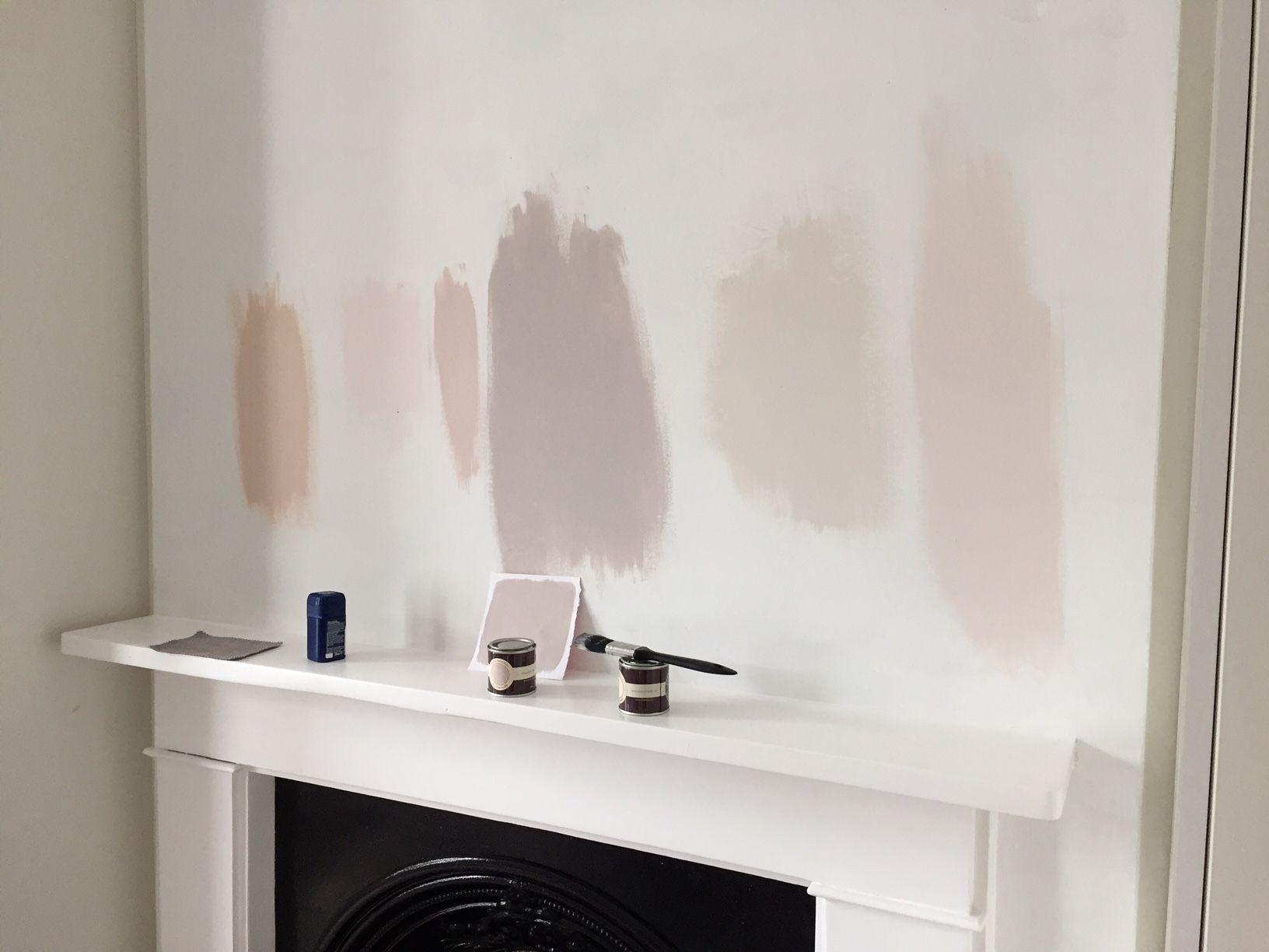 pink paint colours blush paint colour farrow and ball peignoir peignoir pinterest pink. Black Bedroom Furniture Sets. Home Design Ideas
