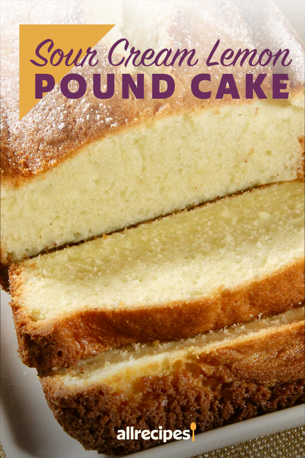 Sour Cream Lemon Pound Cake Recipe In 2020 Sour Cream Pound Cake Lemon Pound Cake Pound Cake