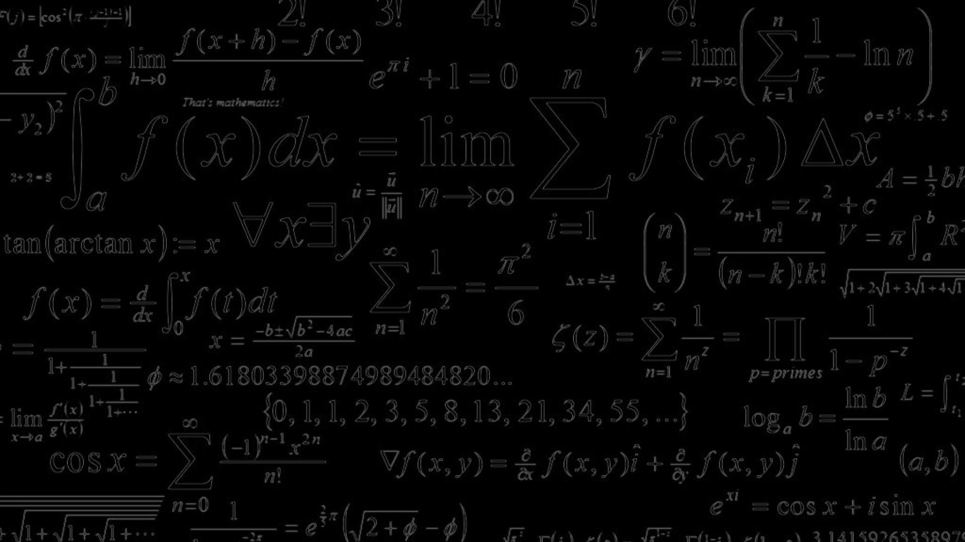Who Has A Cool Mathrelated Desktop Background Math 1920x1080 Pictures Wallpapers