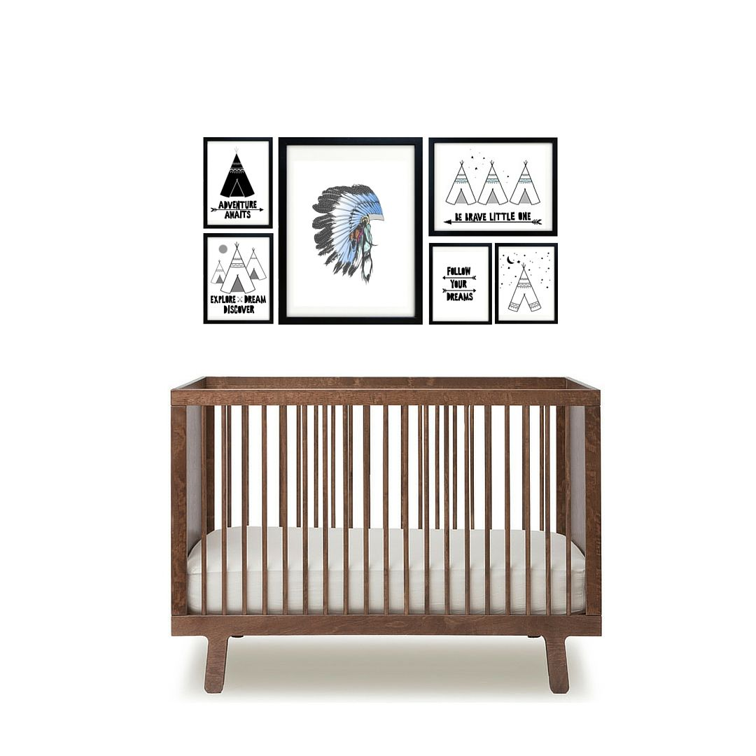 We love making nursery wall art our designs are available as both