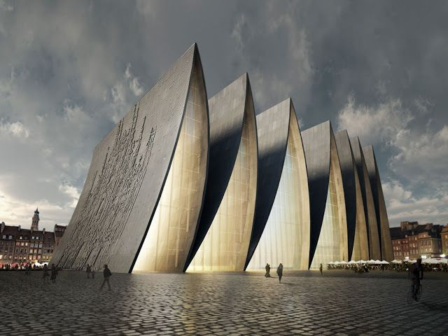 Modern Architecture New Strasbourg Cathedral Strasbourg France By Axis Mundi Modern Architecture Architecture Design Strasbourg Cathedral