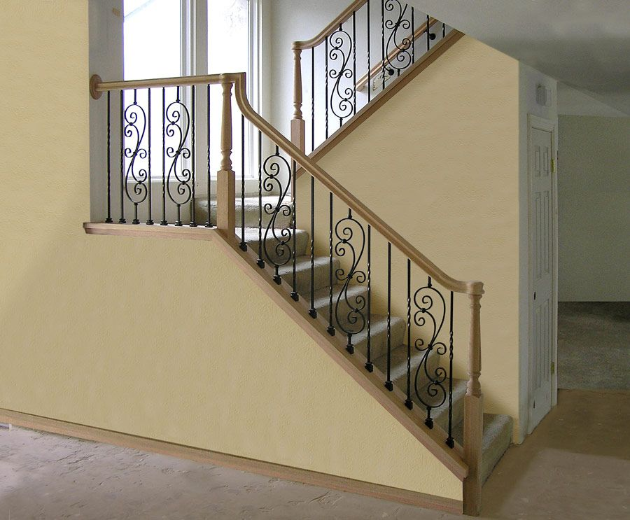 Best Closed Stringer Spanish Revival Stairs Staircase Remodel 400 x 300