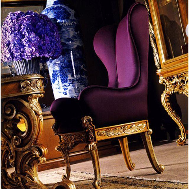 My My My Duroque Designs Purple Decor Purple Chair Decor