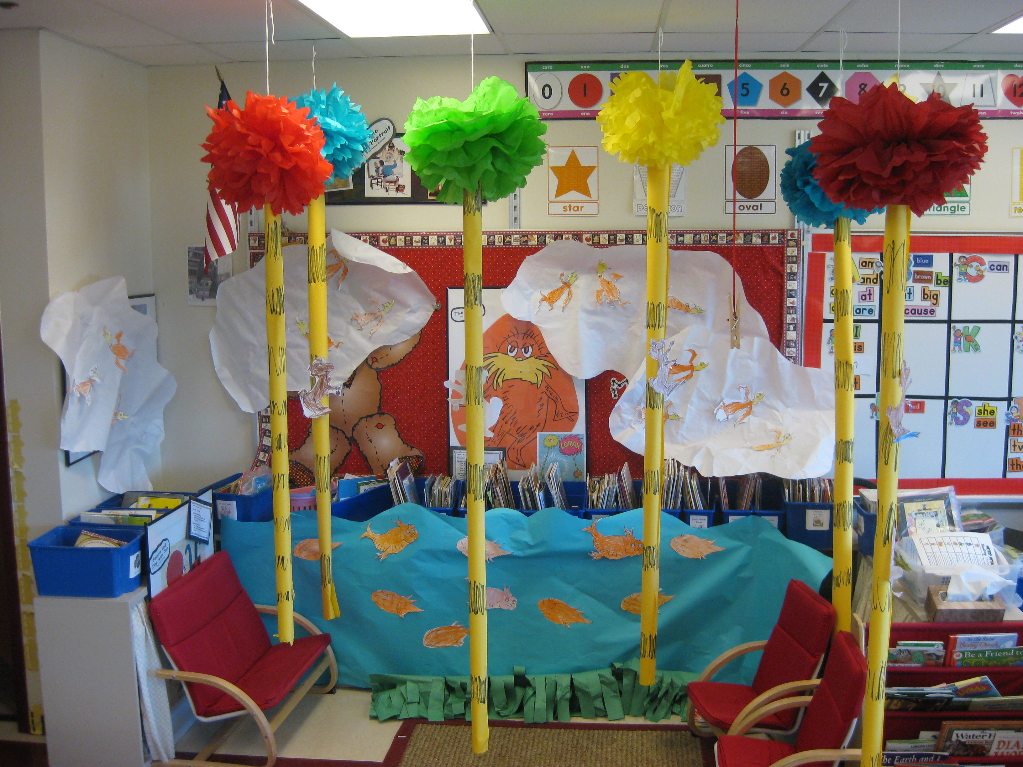 Lorax Classroom Decor : Lorax this is land in our kindergarten classroom we