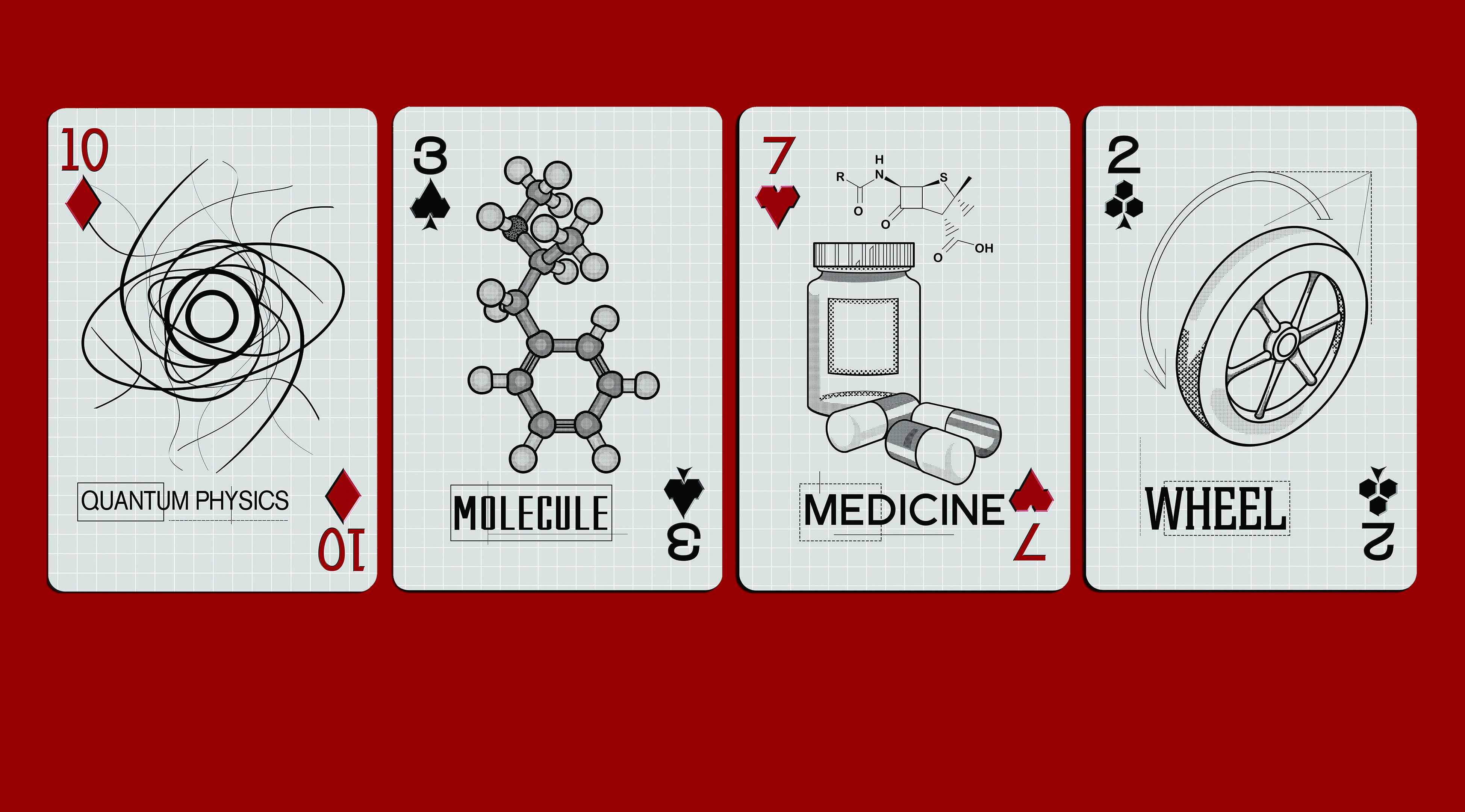 Science Playing Cards Part Of The Science Deck #Science #Deck