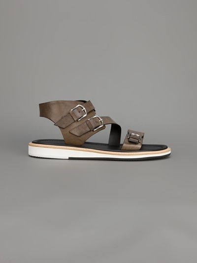 Giorgio Armani - buckled sandals