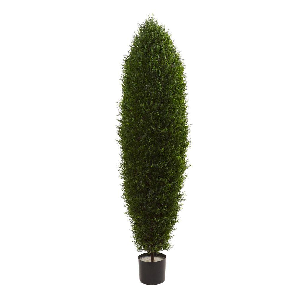 Nearly natural âuac cypress tree uv resistant indooroutdoor