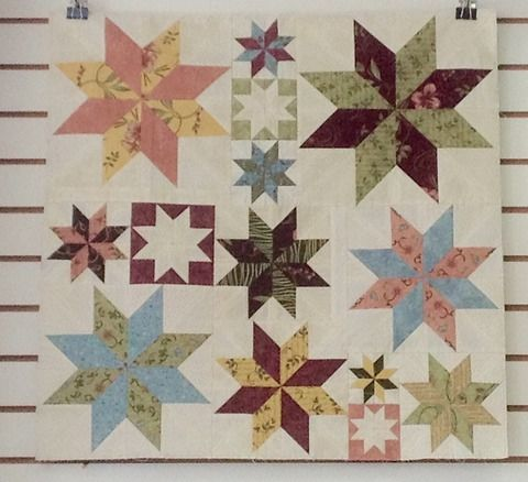 Rapid Fire Lemoyne Star with Connie: Monday, October 5th, or Saturday, October 24th, 10am-4pm Can you believe it is possible to make a Lemoyne Star without using the dreaded Y seam? Well in this workshop you will learn how to do just that! You will be sewing strips to make your diamonds! You will be able to trim down your final blocks to the perfect size! Plus to top it all off, by using the Rapid Fire Lemoyne Star tool by Studio 180 Designs, you will be able to make 10 different sized…