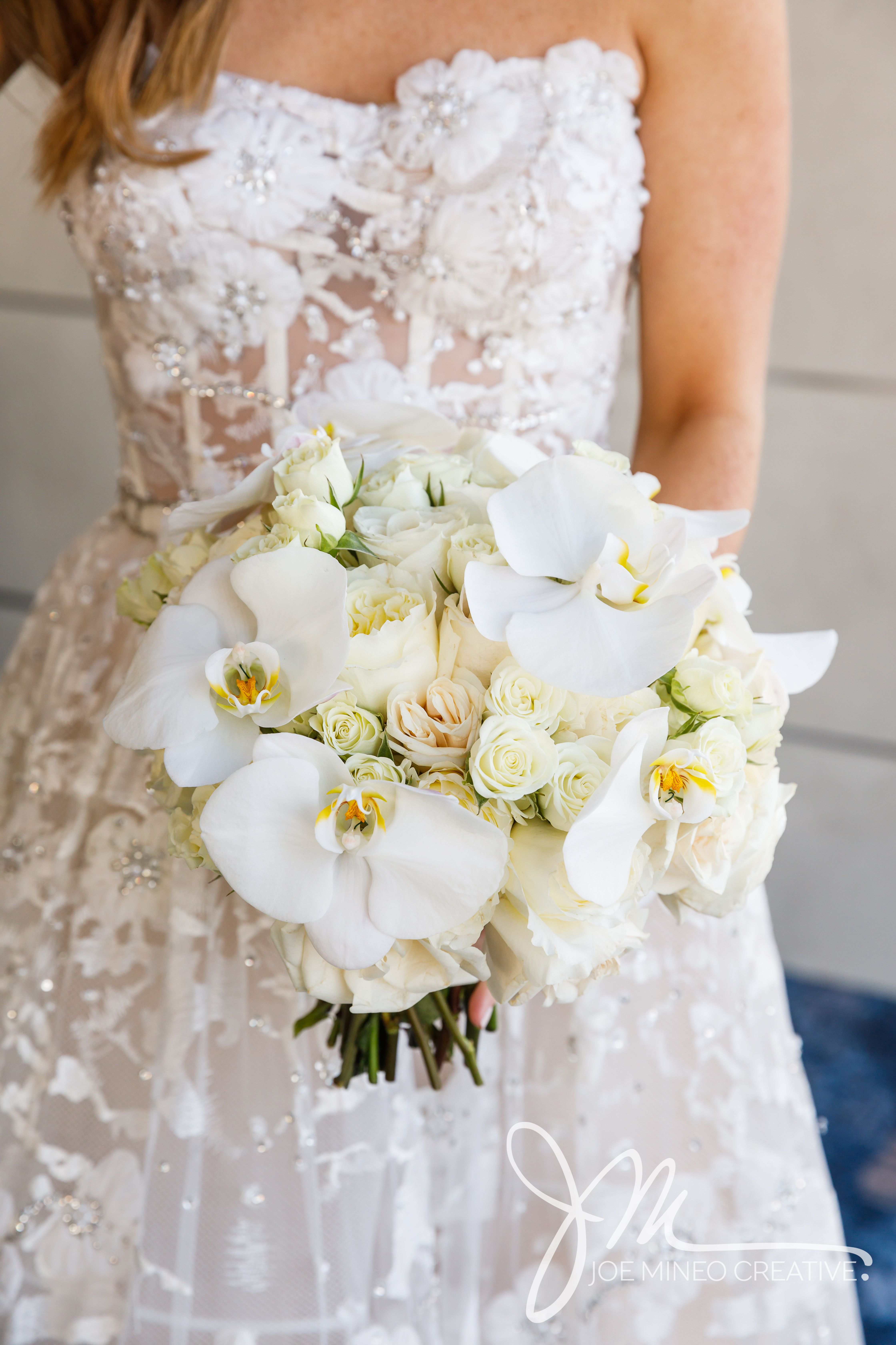 Soft And Fluttery Orchids Make The Perfect Flower For A Bridal