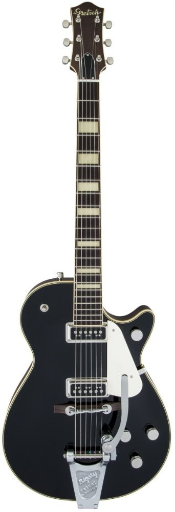 G6128T-53 VINTAGE SELECT '53 DUO JET WITH BIGSBY, TV JONES, BLACK
