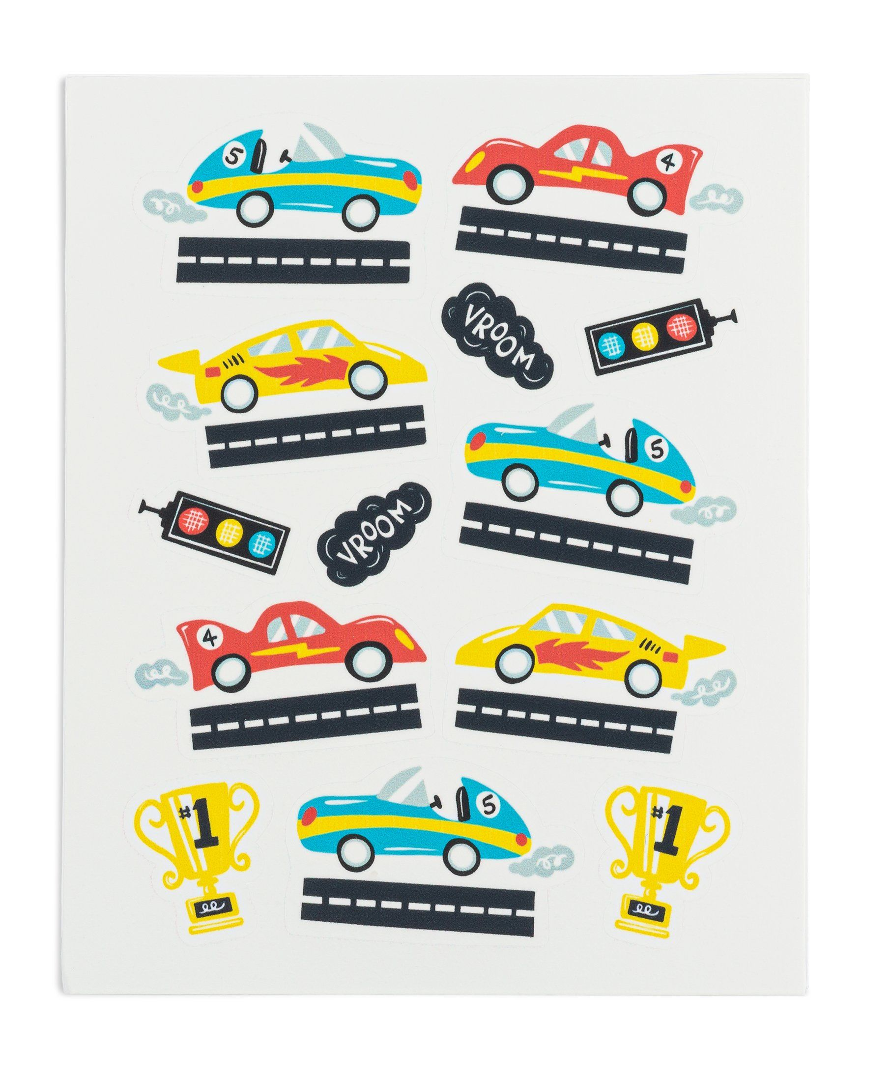 Photo of Race Car Stickies® – 6 sheets/72 stickers (SAVE 26%)