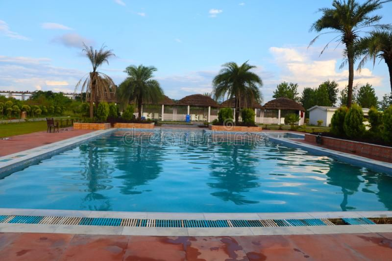 Indian swimming pool holiday destination a beautiful