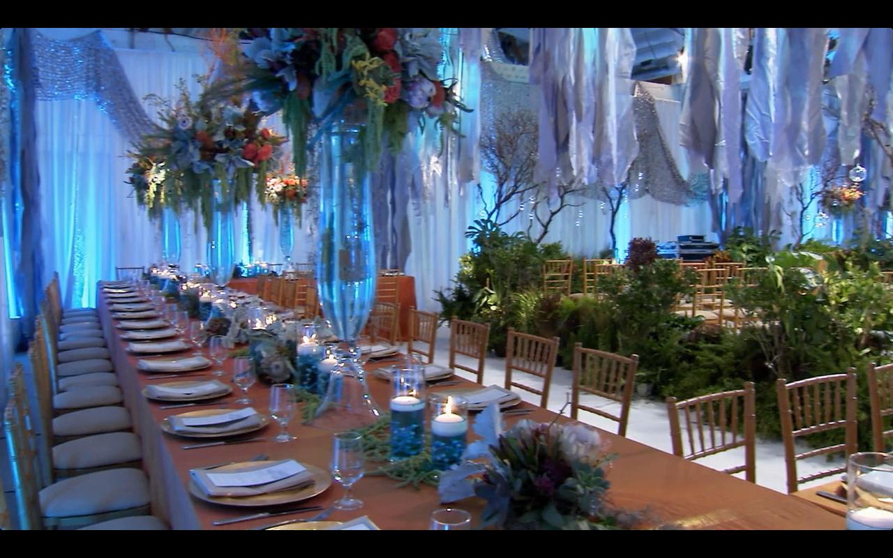Under The Sea Wedding- David Tutera