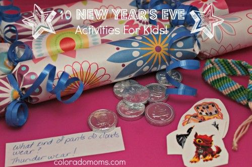 10 New Year S Eve Activities For Kids New Year S Eve Activities New Years Eve Day Winter Crafts