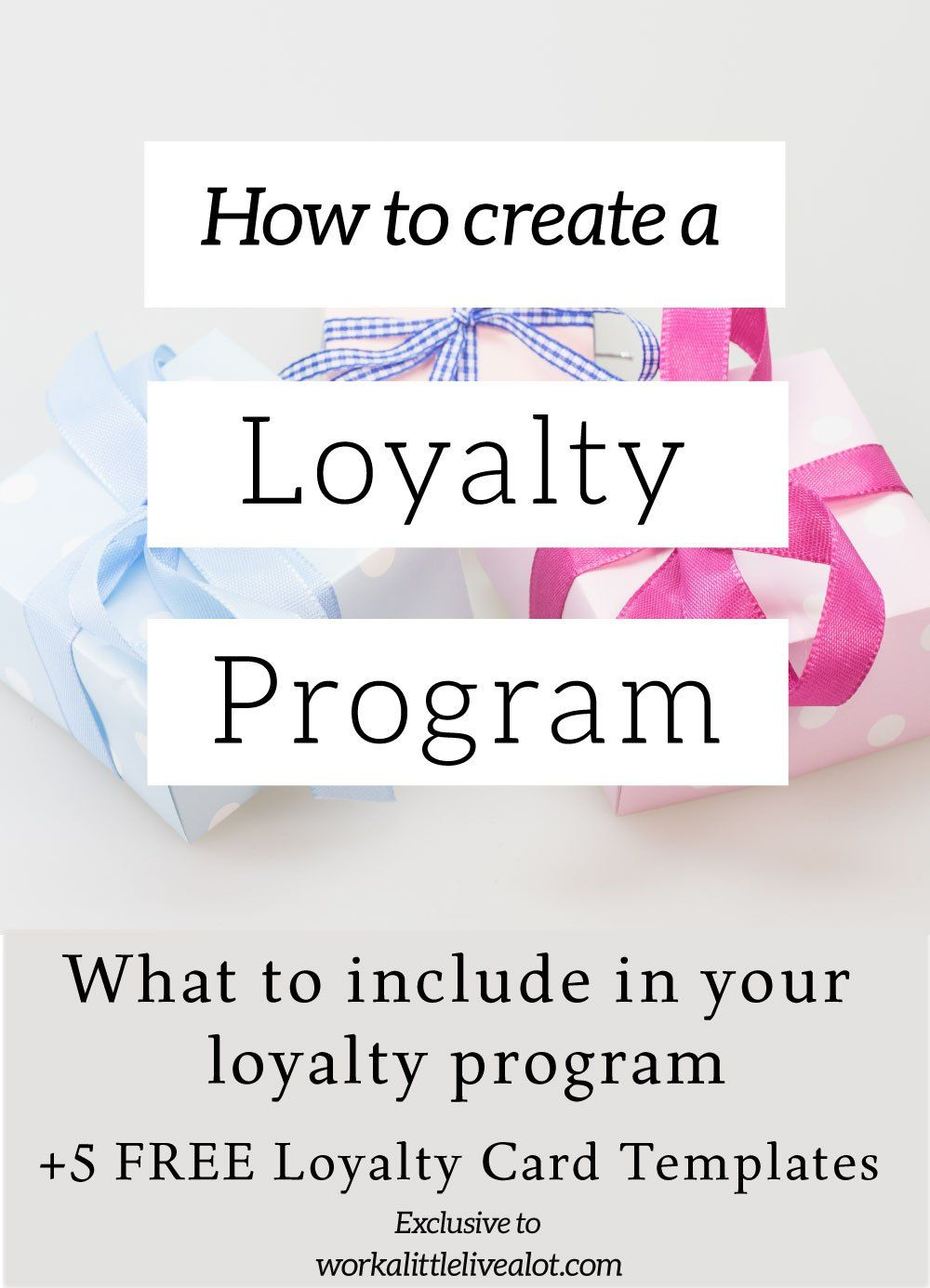 How To Create A Loyalty Program And Five Free Loyalty Card Templates - Loyalty card template