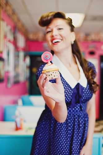 1950s Happy Housewife Bridal Shower via Kara's Party Ideas - one of the cutest bridal shower ideas I've ever seen