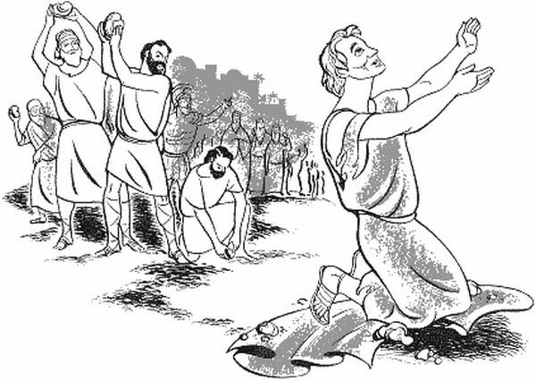 St Stephen Coloring Page Google Search Saint Stephen Coloring Pages Color