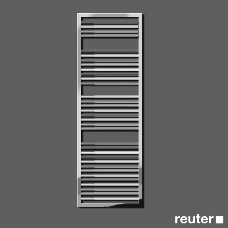 Zehnder Universal Badheizkörper H: 148,3 cm chrom Breite 500 mm, 526 Watt