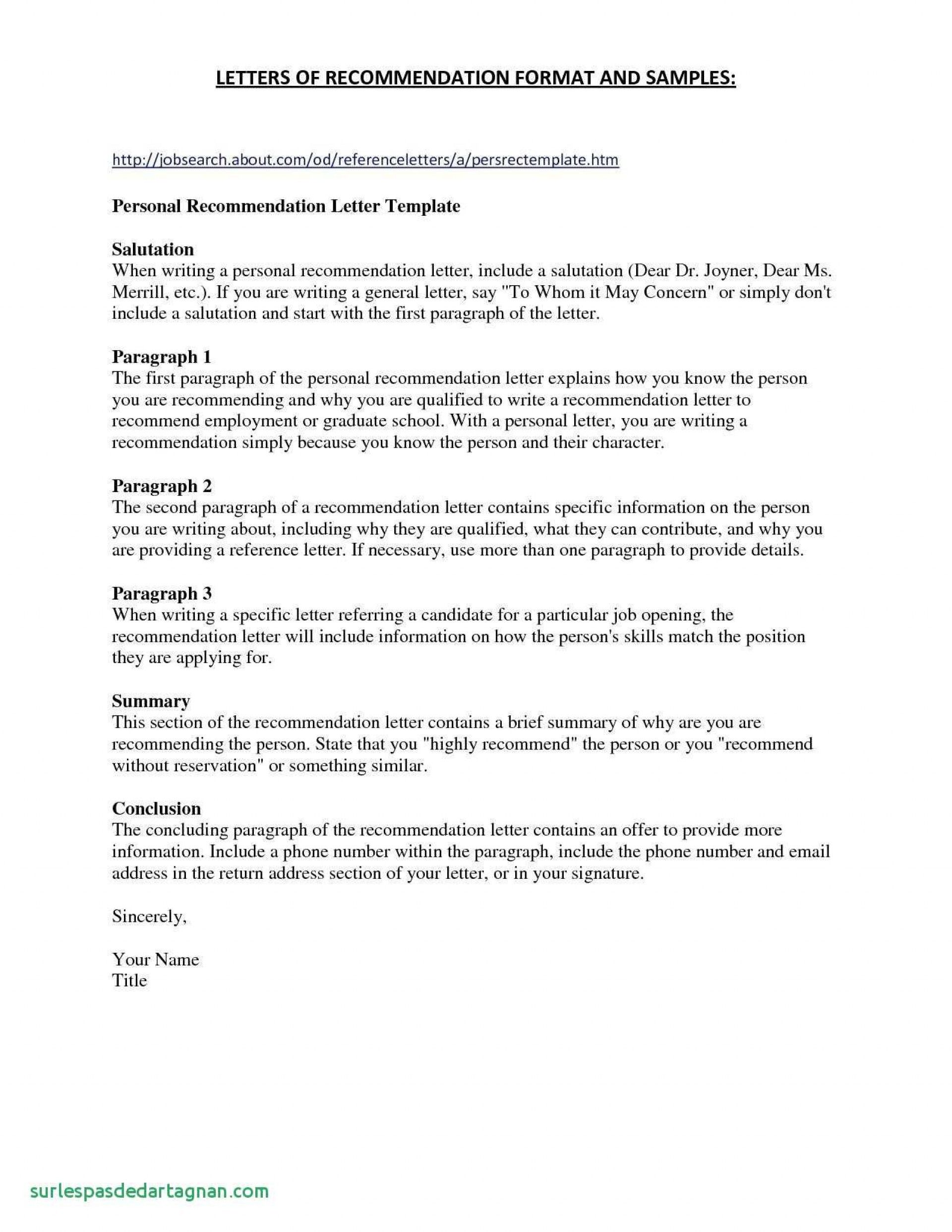 Reference Letter British Format Five Advice That You Must Listen
