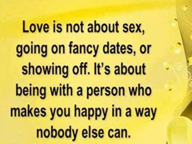 What love is.