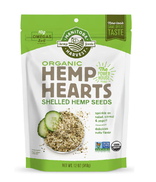 Manitoba Harvest Organic Hemp Hearts Raw Shelled Hemp Seeds    #fitness #healthyfood #health #health...