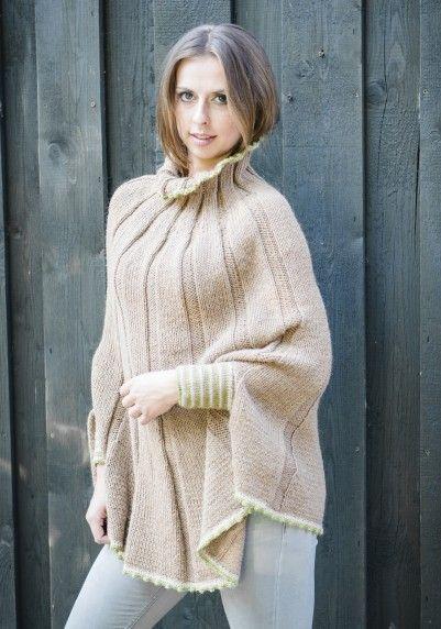 Schoener Stricken De dieser schöne ponchover wurde aus kremke soul wool alpaka 100