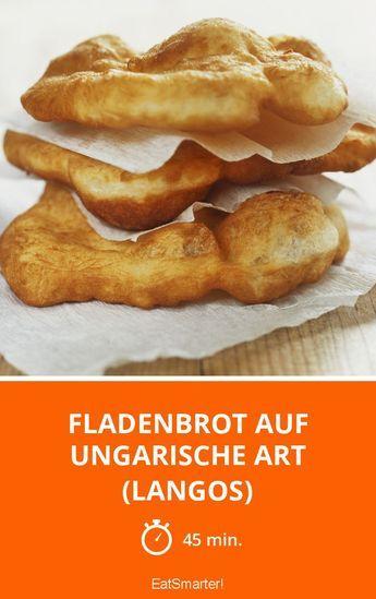 Fladenbrot auf ungarische Art (Langos) #sandwichrecipes