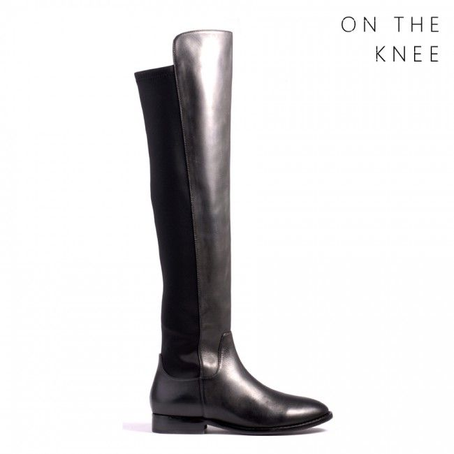 Quentin - Black Calf - Boots - Long - Shop All